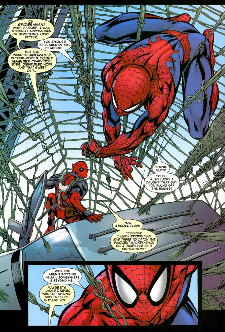 comic deadpool breaking fourth wall example