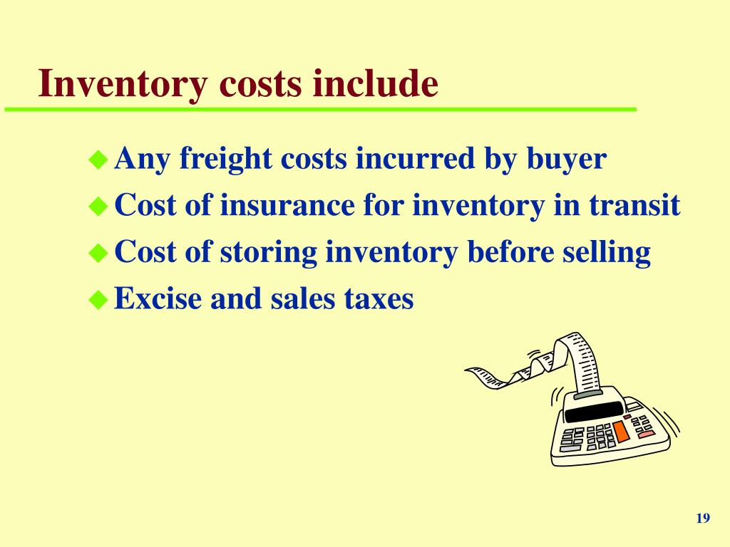 weighted average inventory method example