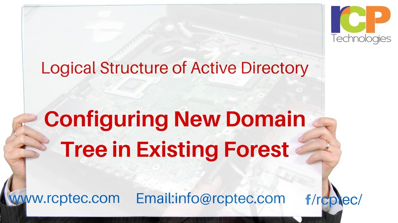 active directory tree structure example