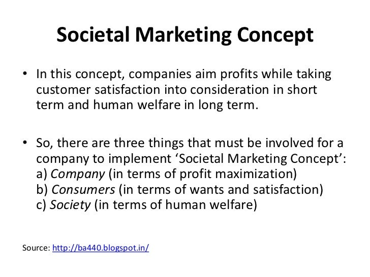 example of exchange concept of marketing