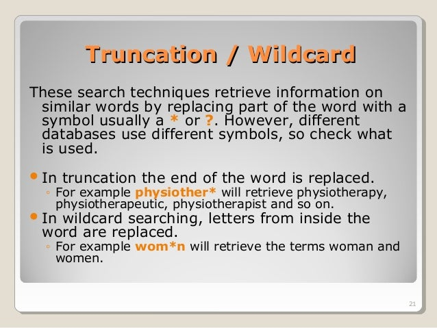 example of definition of terms in research paper