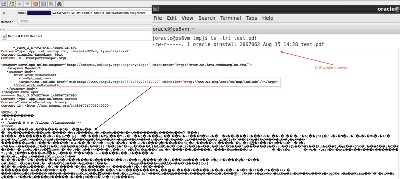using openssl show with example