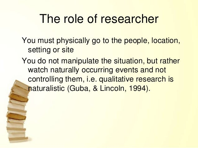 what is an example of anecdotal evidence qualitative