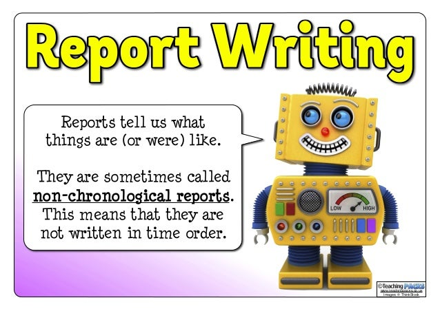 example of an information report kids