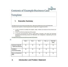 example of an intake summary for case management