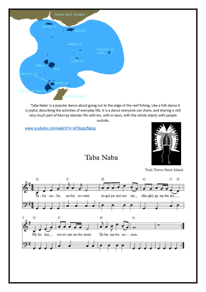 example of song activities for early childhood