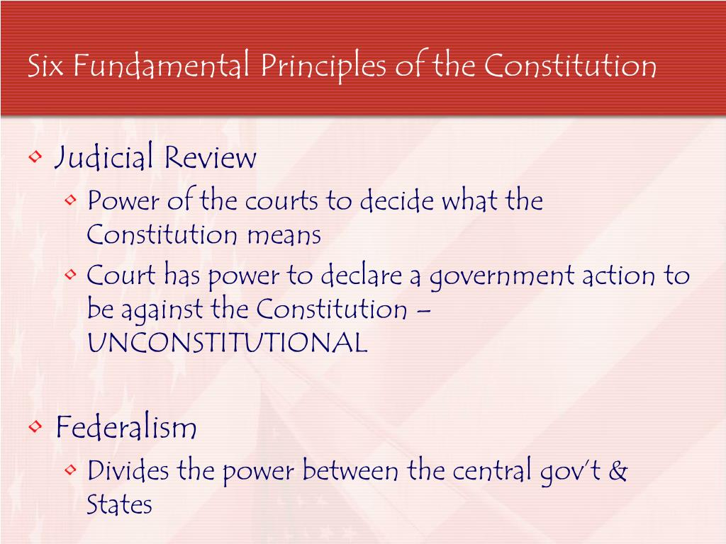 give an example of judicial power