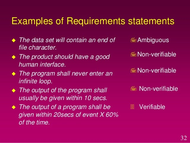 site adaptation requirements in srs example