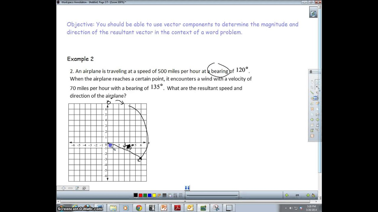 what is an example of a vector